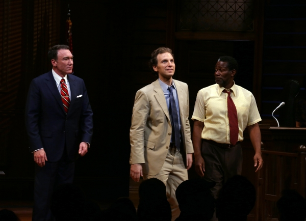 Photo Coverage: A TIME TO KILL Cast Takes First Official Broadway Bow with John Grisham & Rupert Holmes!
