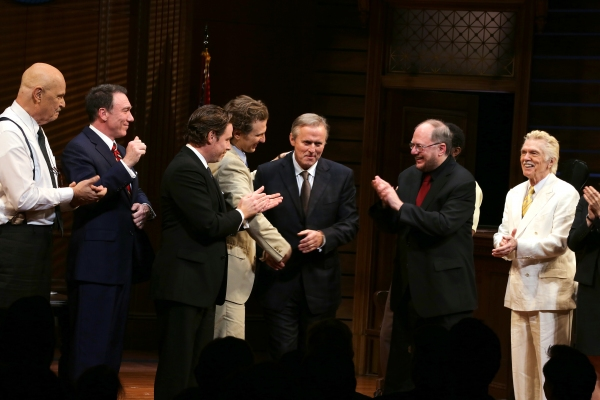 Fred Dalton Thompson, Patrick Page, Director Ethan McSweeny, Sebastian Arcelus, John Grisham, John Douglas Thompson, Playwright Rupery Holmes and Tom Skerritt