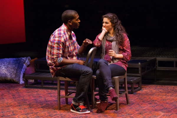 Khris Davis as Duke and Melis Aker as Roya