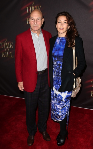 Patrick Stewart & wife Sunny Ozell