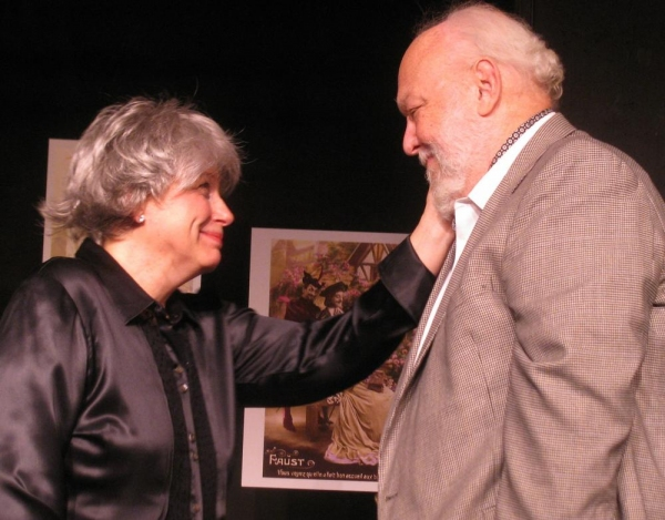 Theresa Swartz and Doug Kline in Quartet