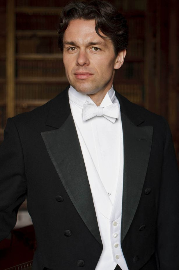 First Footage Of Julian Ovenden On DOWNTON ABBEY