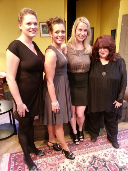 Kristen Williams, Darci Bender Hubber, Meghan Powe, Debra Rodkin