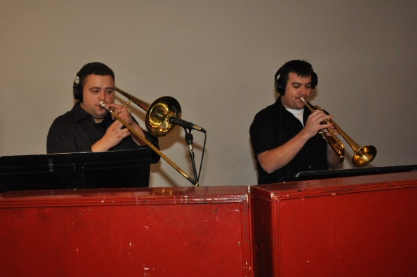 Michael Boscarino (Trombone) and Craig Taylor (Trumpet) Photo