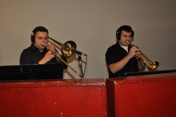 Michael Boscarino (Trombone) and Craig Taylor (Trumpet)