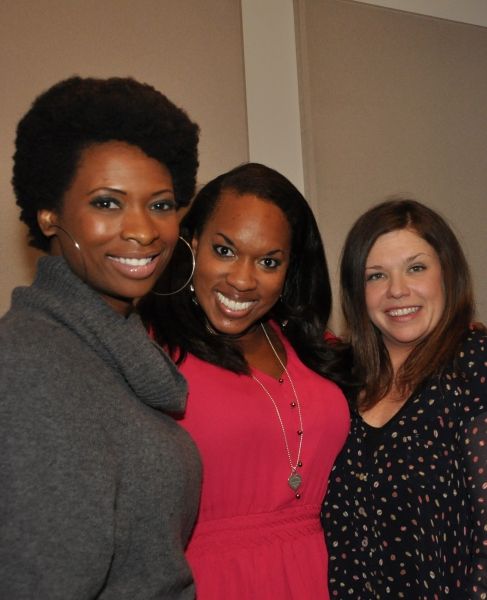 Taprena Michelle Augustine, Allison Blackwell and Mary Bridget Davies