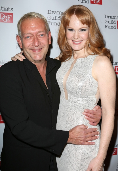 Michael John LaChiusa and Kate Baldwin