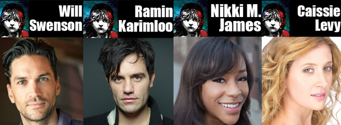 BWW Special Feature: The Four New Stars Of LES MISERABLES 2014 Answer Our Questions!