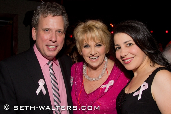 Photo Flash: Lorna Luft, Liza Minnelli, Brian Stokes Mitchell & More Celebrate Second LORNA'S PINK PARTY at Birdland!