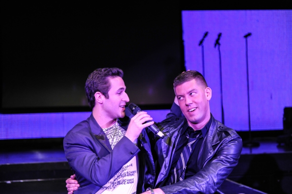 Russell Fischer (Jersey Boys) and Dougie Meyer