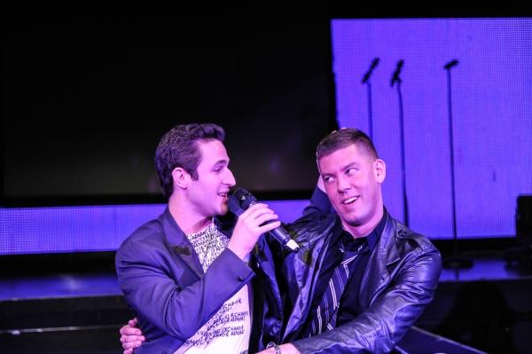 Russell Fischer (Jersey Boys) and Dougie Meyer Photo
