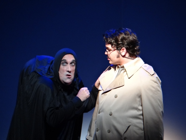 Mark Netherly as Igor and Brian F. Finnerty as Dr. Frederick Frankenstein Photo