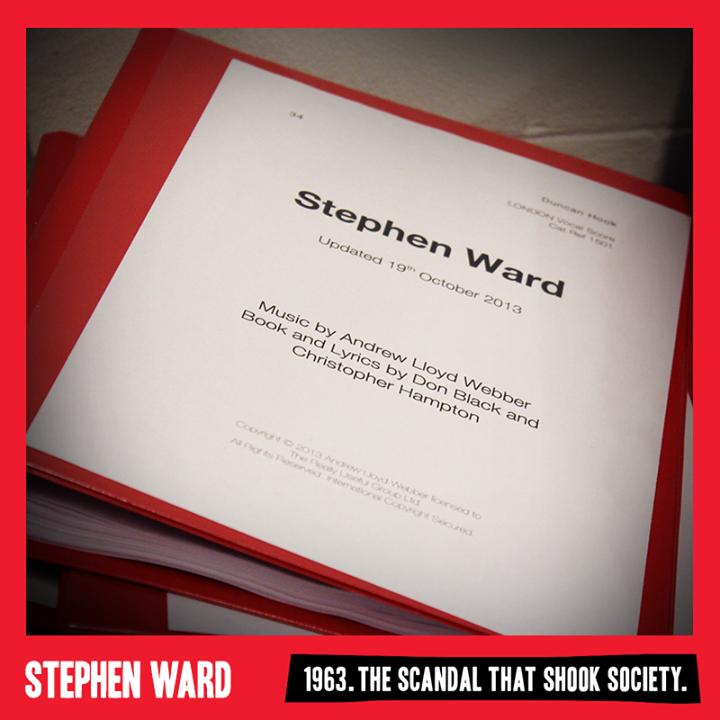 Rehearsal Day #2 For Andrew Lloyd Webber's STEPHEN WARD