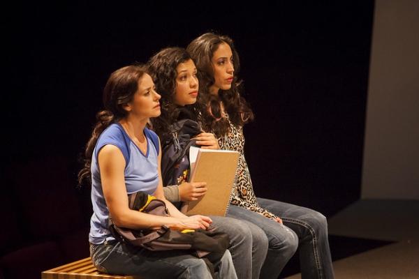 Ruth Livier, Cynthia Bastidas and Yunuen Pardo