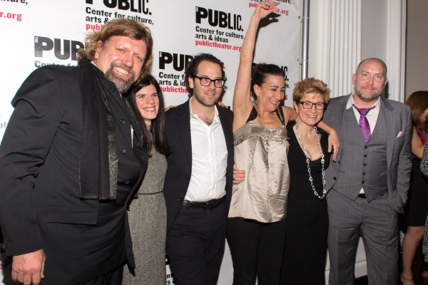 Photo Coverage: Michael Cerveris, Judy Kuhn & More Celebrate Opening Night of Public Theater's FUN HOME