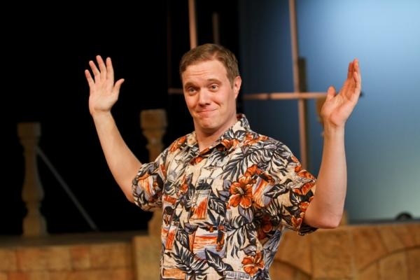Matt Shimkus as Benedick Photo