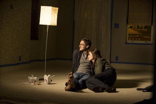 THE BLACKLIST -- ''Frederick Barnes'' Episode 106 -- Pictured: (l-r) Ryan Eggold as Tom Keen, Megan Boone as Elizabeth Keen -- (Photo by: David Giesbrecht/NBC)