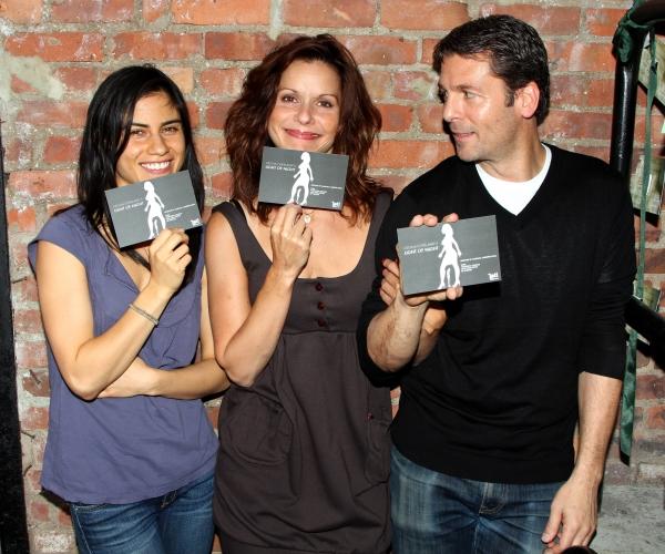 Florencia Lozano, Ana Cruz Kayne and Ed Trucco Photo