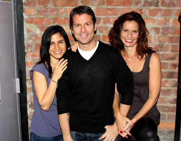 Florencia Lozano, Ana Cruz Kayne and Ed Trucco