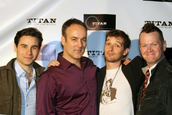 Sean Hudock, Ryan Lee, Adam Perabo, and Lloyd Mulvey