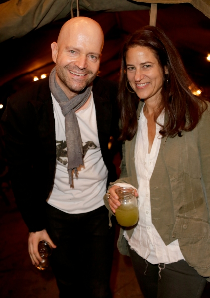 Hosts Marc Forster and Katharine Ross