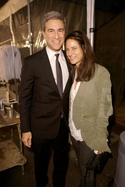 Michael Govan and Host Katharine Ross