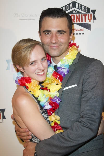 Tamara Harvey and Darius Campbell