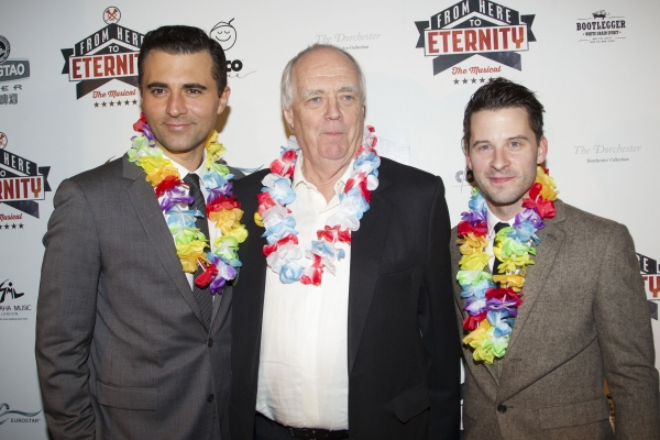 Darius Campbell, Tim Rice and Robert Lonsdale