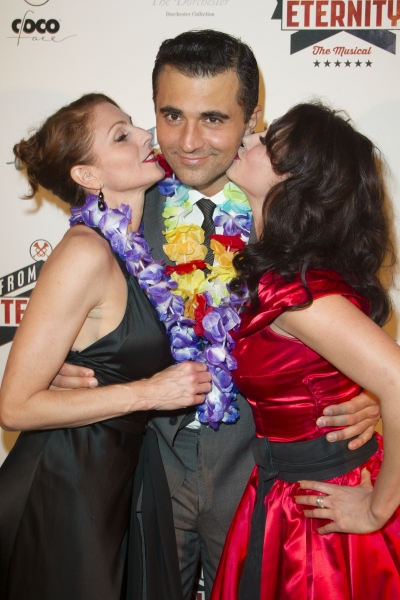 Rebecca Thornhill, Darius Campbell and Siubhan Harrison