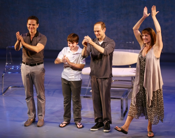 Photo Coverage: David Hyde Pierce, Julia Murney & More Take Opening Night Bow in THE LANDING