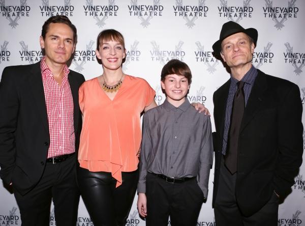 Paul Anthony Stewart, Julia Murney, Frankie Seratch and David Hyde  Photo