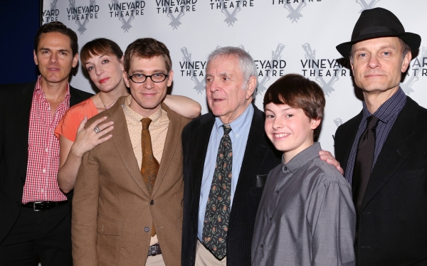 Paul Anthony Stewart, Julia Murney, Greg Pierce, John Kander,Frankie Seratch and David Hyde Pierce