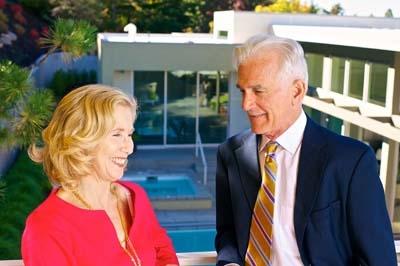 Joyce Cohen and Dennis Parlato Photo