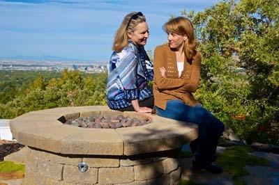 Kate Skinner and Nancy Lemenager  Photo