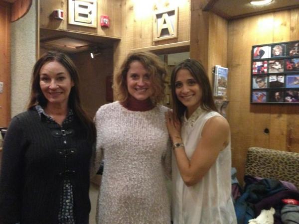 Jessica Molaskey (Sister Berthe), Christianne Noll (Sister Margaretta) and Elena Shaddow (Sister Sophia)