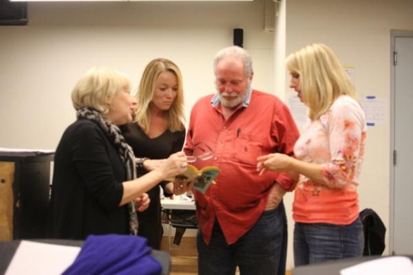 Director Bryna Wasserman, Renee Bang Allen, Chuck Karel, and Leisa Mather  Photo
