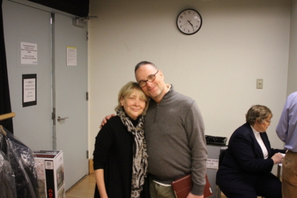 Director Bryna Wasserman and musical director Michael Larsen