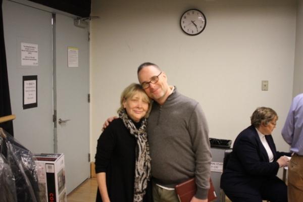 Director Bryna Wasserman and musical director Michael Larsen Photo