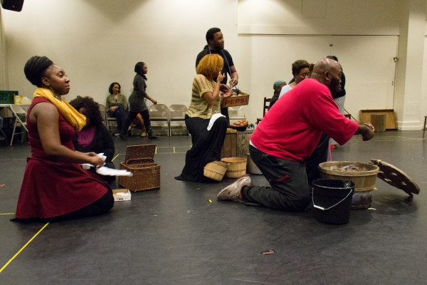 Photo Coverage: In Rehearsal with the Cast of PORGY AND BESS National Tour