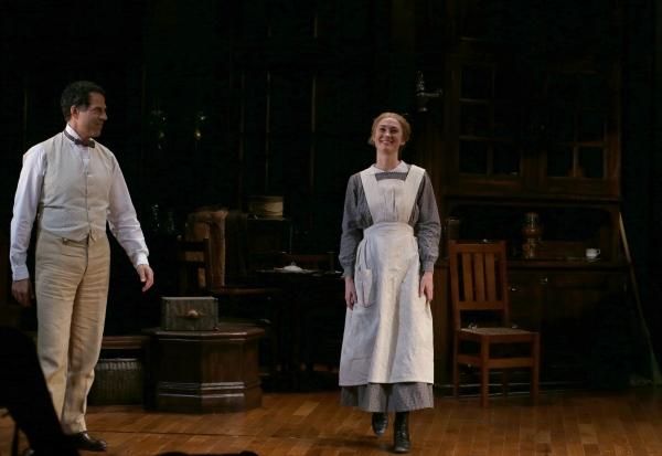 Christopher Innvar and Jessica Love