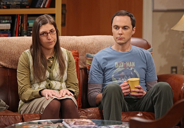 ''The Proton Displacement'' -- Sheldon (Jim Parsons, right) feels slighted when Professor Proton seeks advice from Leonard instead of him, and he seeks revenge by befriending a rival science TV host, Bill Nye, on THE BIG BANG THEORY, Thursday, Nov. 7 (8:0