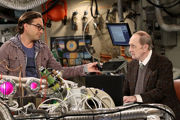 ''The Proton Displacement'' -- Sheldon feels slighted when Professor Proton (Bob Newhart, right) seeks advice from Leonard (Johnny Galecki, left) instead of him, and he seeks revenge by befriending a rival science TV host, Bill Nye, on THE BIG BANG THEORY