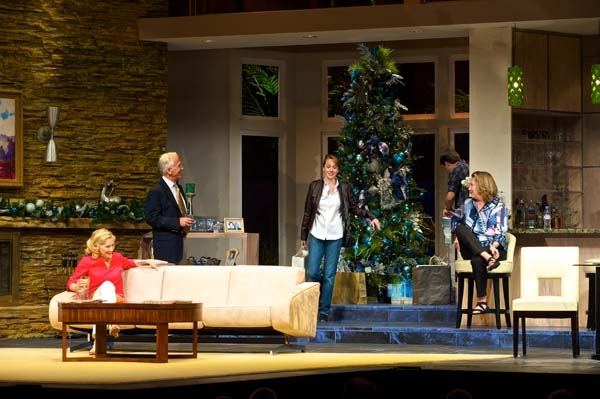 The Cast of OTHER DESERT CITIES: Joyce Cohen (Polly Wyeth), Nancy Lemenager (Brooke W Photo