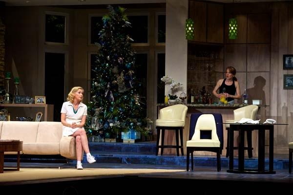 The Cast of OTHER DESERT CITIES: Joyce Cohen (Polly Wyeth), Nancy Lemenager (Brooke Wyeth), Dennis Parlato (Lyman Wyeth), Kate Skinner (Silda Grauman) and Michael Zlabinger (Trip Wyeth).