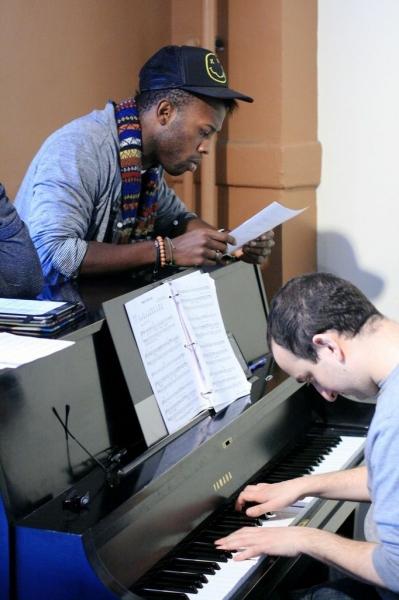Jamal Shuriah and Music Director Andy Ronninson Photo