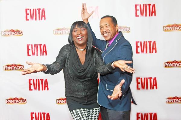 Photo Flash: EVITA Celebrates Opening at the Pantages