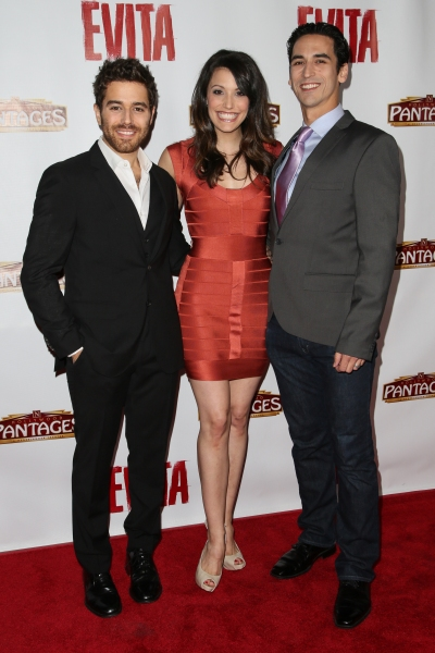 Josh Young, Caroline Bowman, and Sean MacLaughlin