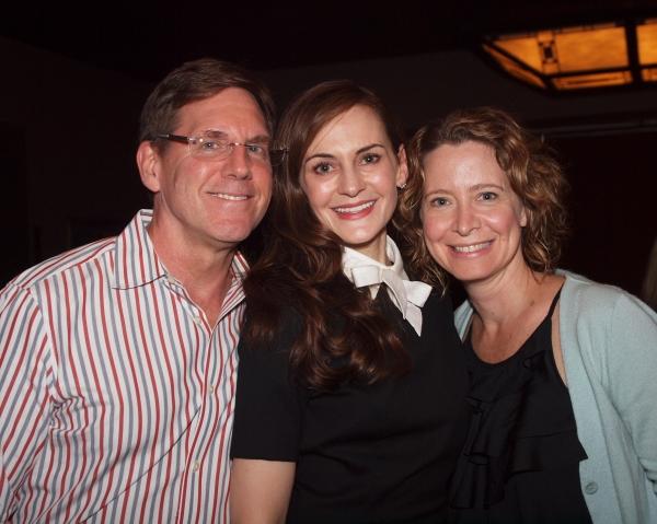Tim Bagley, Deborah Puette, and friend