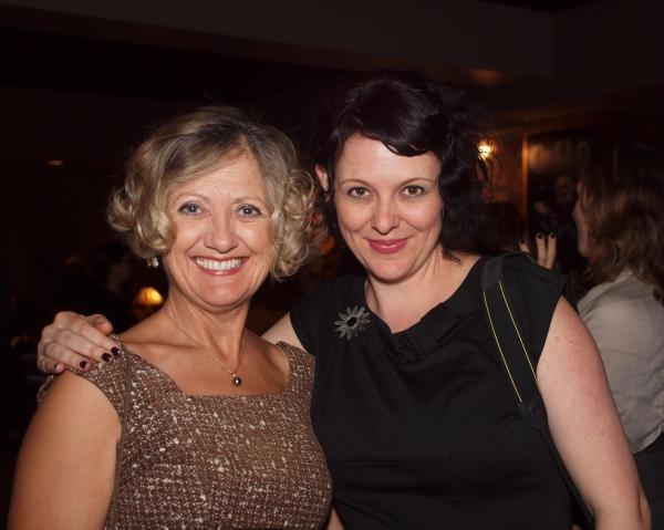 Lori Larsen and Jane Lynch