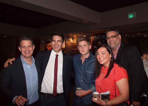 Todd Milliner, Michael Kricfalusi Jr., Michael Grant Terry, Rebecca Esisenberg, and M Photo